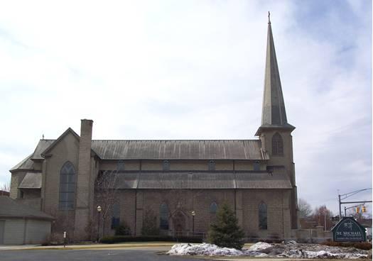 Catholic Architecture And History Of Toledo Ohio St