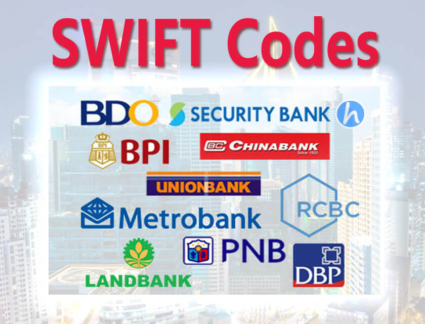 SWIFT Codes Philippines