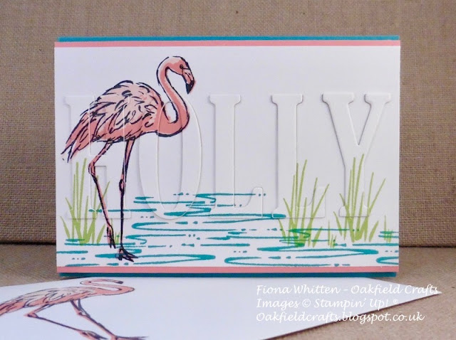 Technique, Fabulous Flamingo, Oakfield Crafts, Stampin' Up!