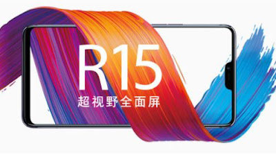 Oppo R15 teaser Show iPhone X-Like Notch