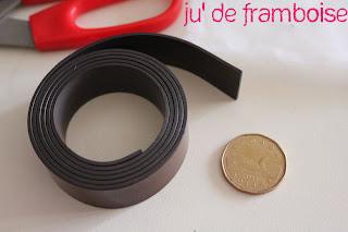 © Ju2Framboise - Tuto / DIY Magnets