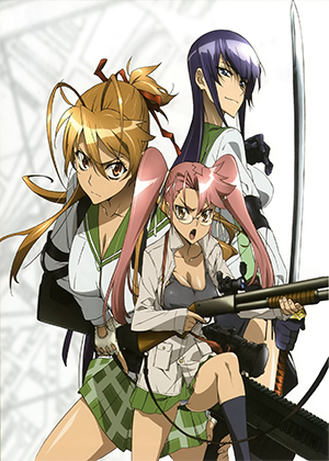Highschool of the Dead [12/12] [Latino] [HD] [MEGA]
