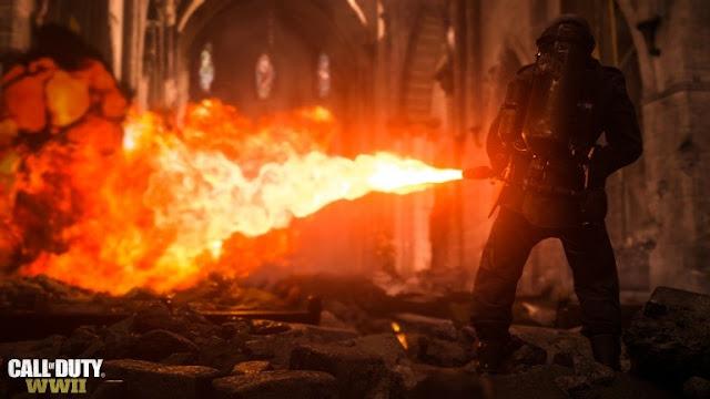 المصمم الموسيقي Wilbert Roget إشتغل على المقاطع الرسمية للعبة Call of Duty WWII