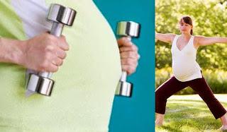 Manfaat olahraga saat hamil
