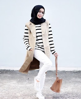 style hijab anak muda sekarang