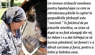 Corciova sau lopata de pus painea in cuptor