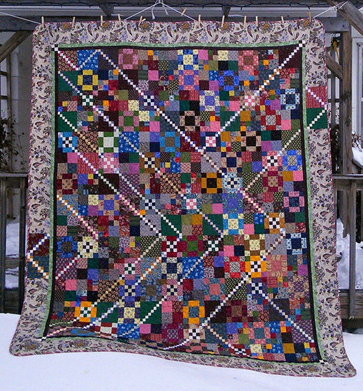 Lori's Trail Mix Quilt Free Pattern