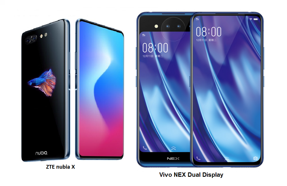 Tspn1 Vivo Nex Dual Display Vs Zte Nubia X Comparisons