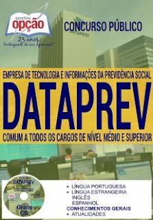 Apostila concurso Dataprev ANALISTA 2017.