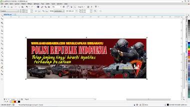 banner atau spanduk dengan format cdr editable
