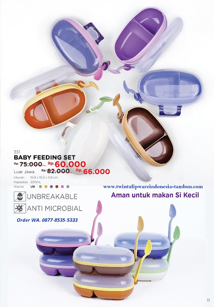 Promo Diskon April 2018, Baby Feeding Set