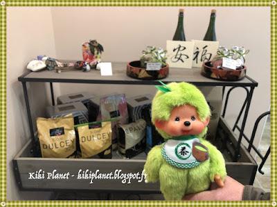 monchhichi matcha, kiki, bebichhichi, thé vert, pâtisserie, japon, Mazako, rouen