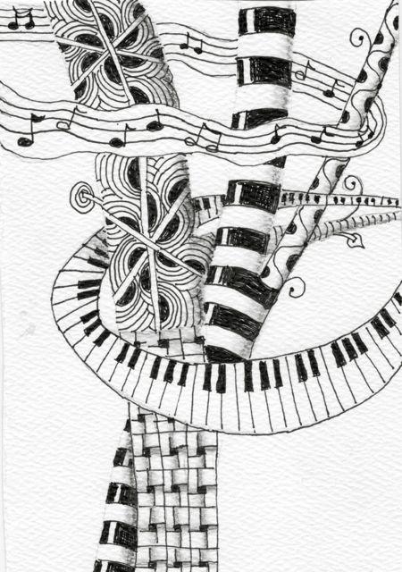 An Artist Labyrinth Ginny Stiles CZT Spring Choral Concert Program