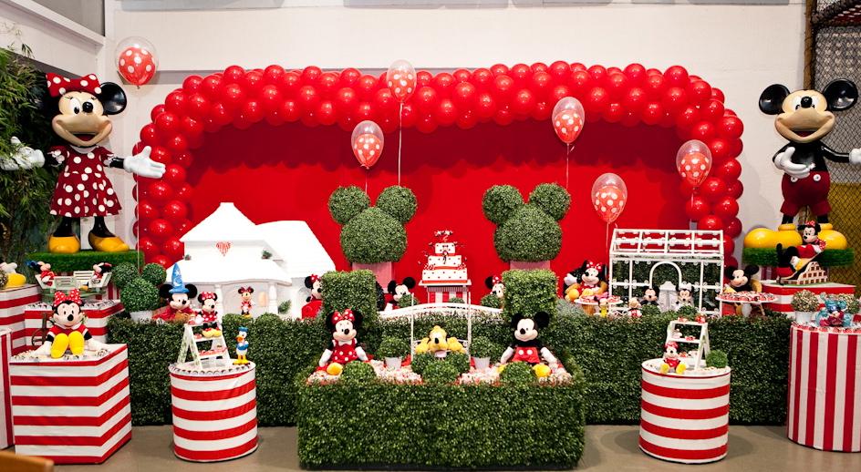 Dicas De Decoraç u00e3o De Festa Infantil Da Minnie # Decoraçao De Festa Da Minnie Vermelha Simples
