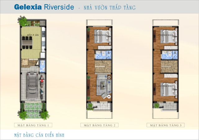 Thiết kế nhà vườn Gelexia Riverside