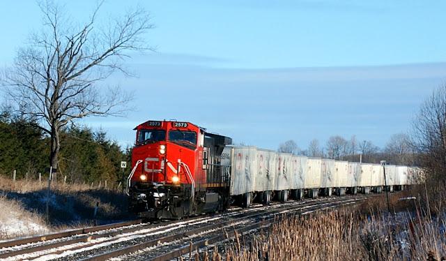Trackside Treasure Cn S Montreal Toronto Roadrailers