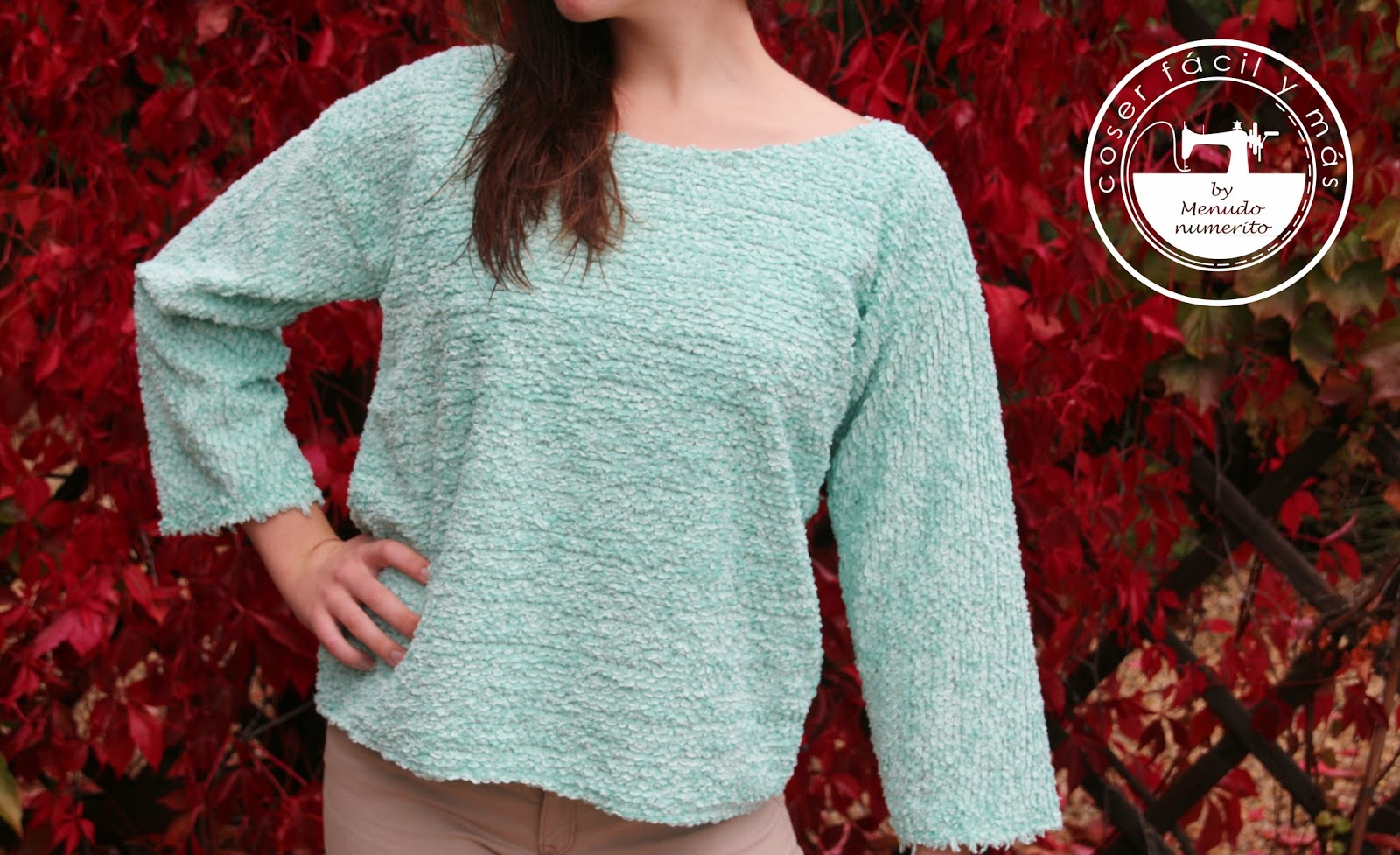 Como hacer un jersey o suéter sin patrones - Handbox Craft Lovers ...