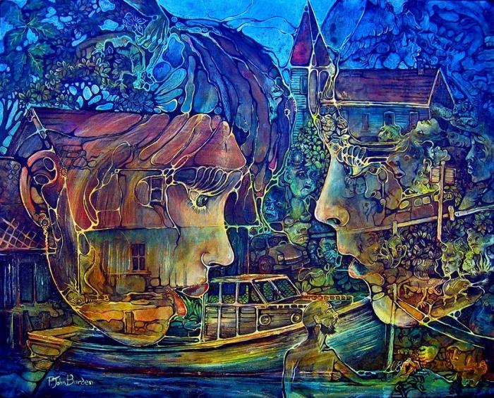 Символические и сюрреалистические картины