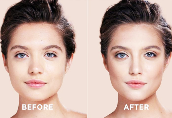 After-Before End Result (Contouring For Square Face) Beauty & Styles #MakeUpArts