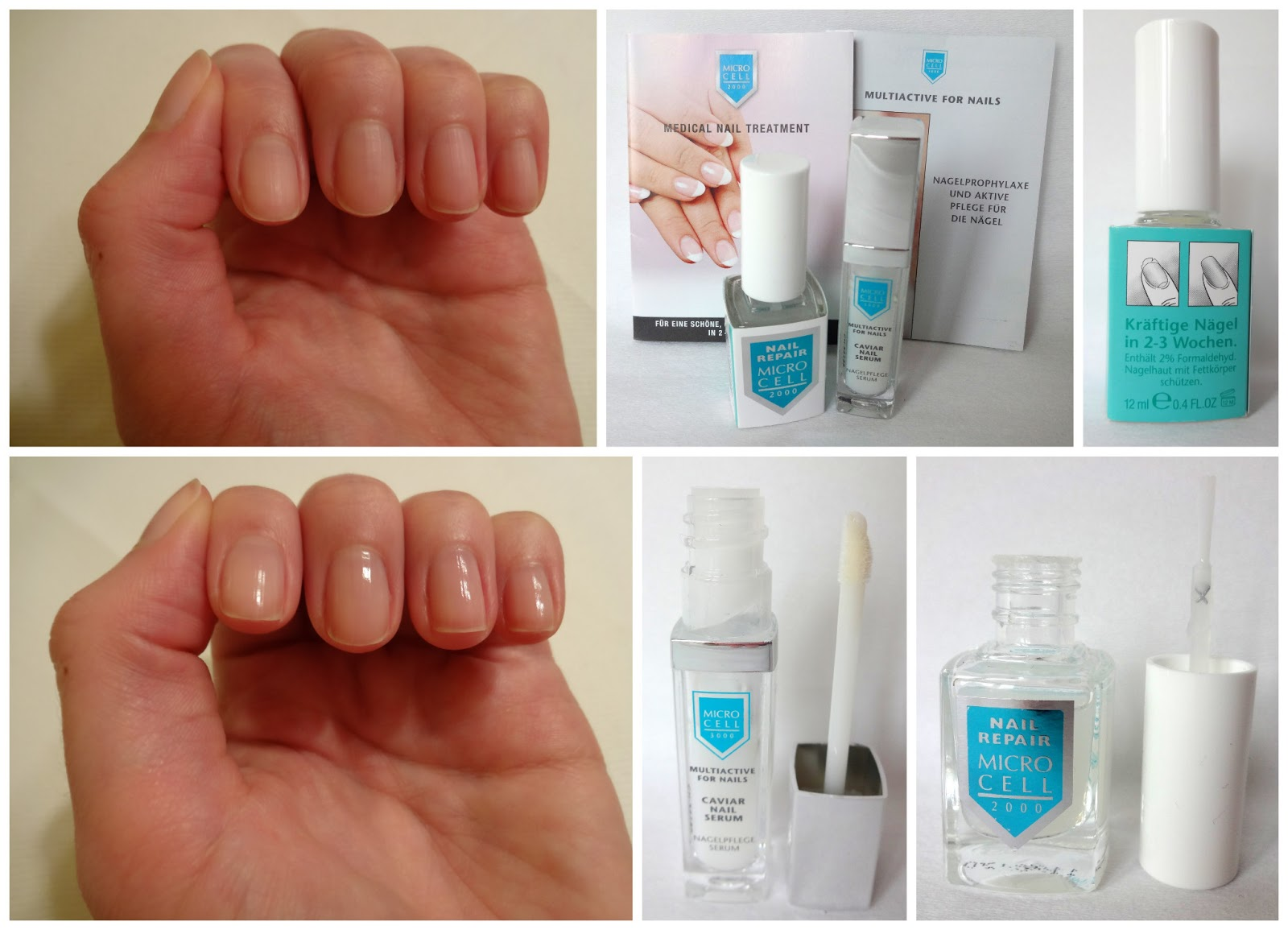Micro Cell 3000 Caviar Nail Serum und Micro Cell 2000 Nail Repair