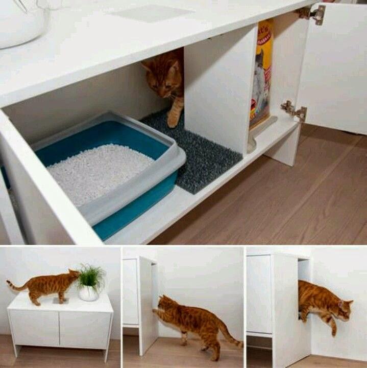 La fabrique d co am nager pour les animaux domestiques astuces et d co - Meuble pour chat ...