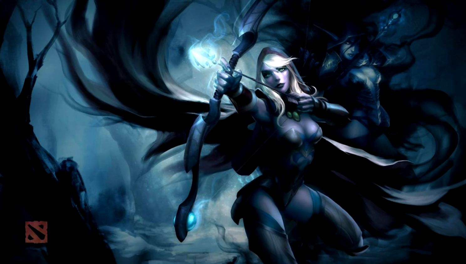 Dota 2 Drow Ranger Hd Wallpaper Link Wallpapers