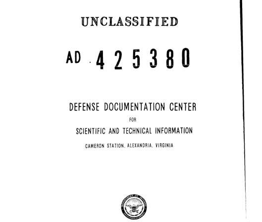 Portada del documento desclasificado que evidencia la existencia de un proyecto anteriormente secreto para detonar una bomba nuclear en la Luna.