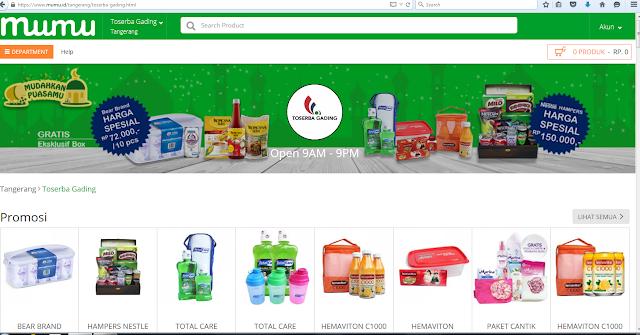 Kelebihan Dari Grocery online Mumu.id