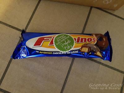 Filipinos galletas con chocolate con leche Caja Degustabox - Junio ´16