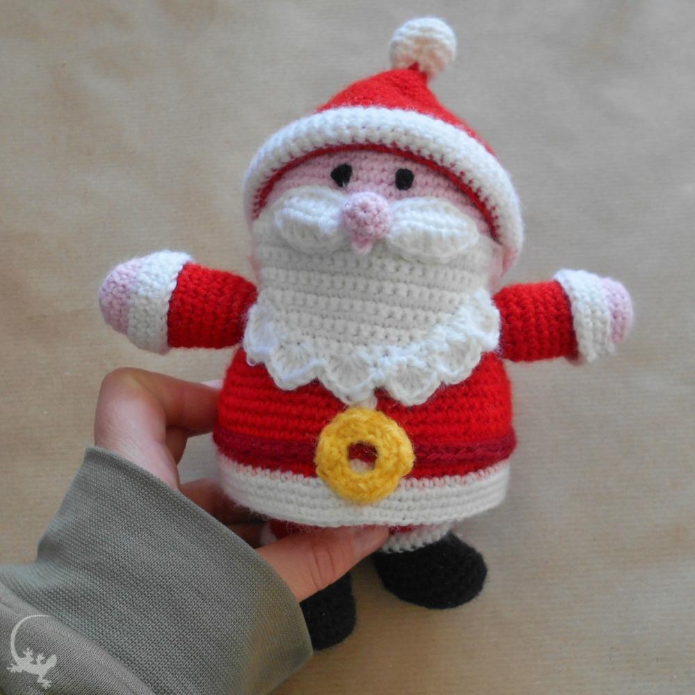 Tutorial pupazzi natalizi ad uncinetto - (mini amigurumi crochet ... | 1000x1000