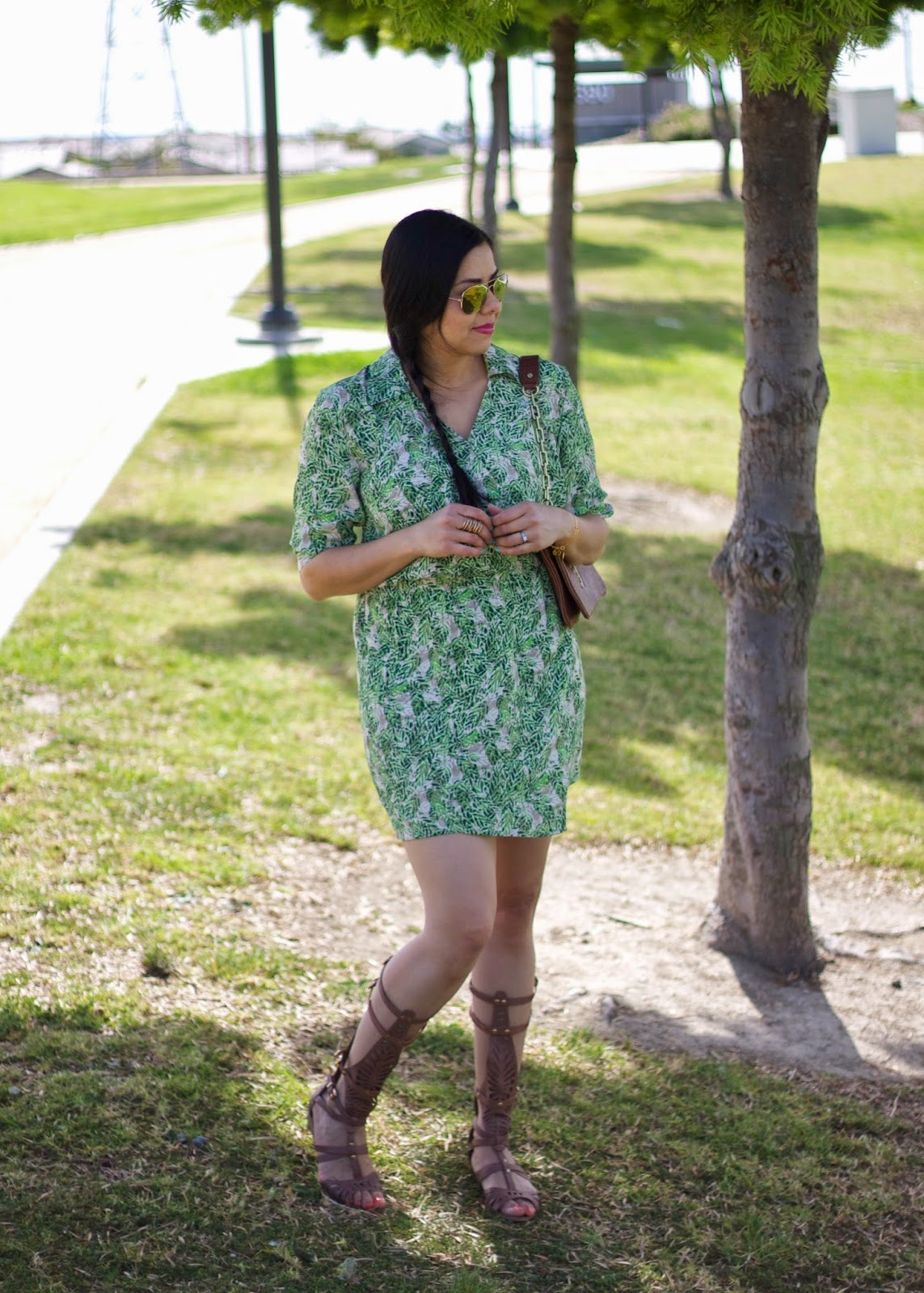 what to wear with gladiator sandals, just fab gladiator sandals, brown affordable gladiator sandals