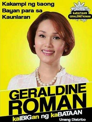 Grande surprise pour Geraldine Roman du