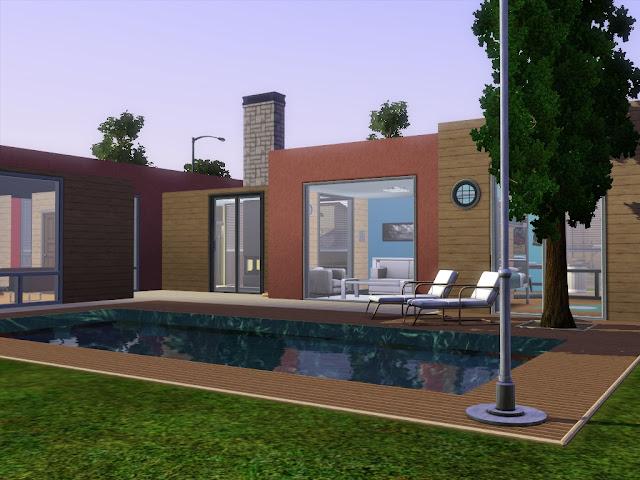 Villa design pour Sims 3