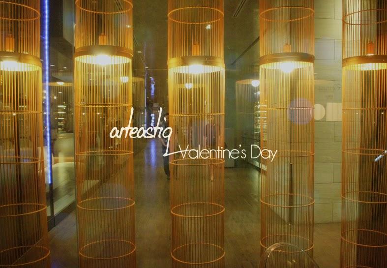 Arteastiq Boutique Tea Lounge Valentine's Day 2015 Menu
