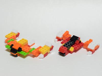 ナノブロックプラス 種族合体 リーサルモード