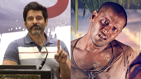 Nobody believed in Sethu but today? – Vikram motivational speech | Sketch Success Meet