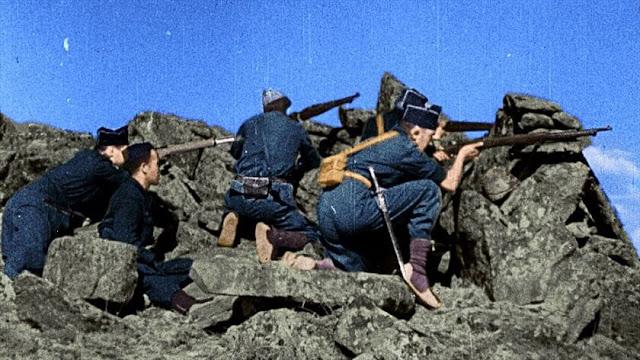 Fotograma: España en dos trincheras, la Guerra Civil en color (2016)