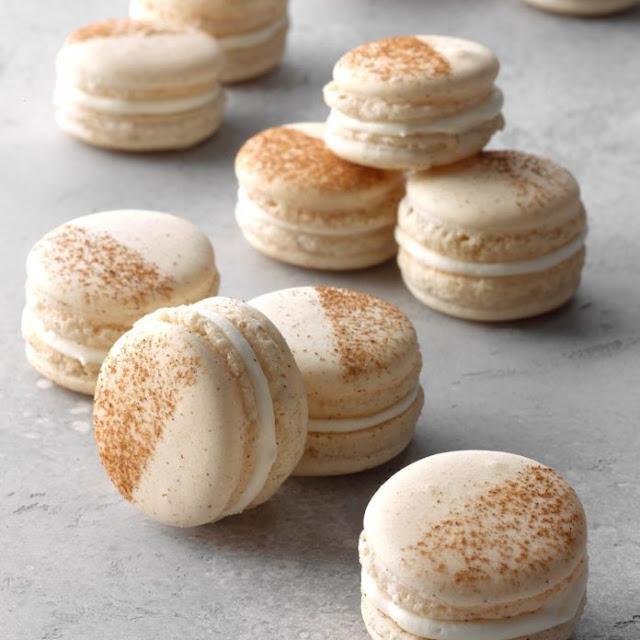 Cinnamon Roll Macarons Recipe