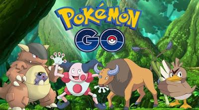 Pokemon Legendaris Di Pokemon GO