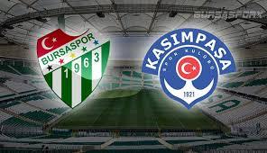 Bursaspor - Kasimpaşa Canli Maç İzle 08 Nisan 2018