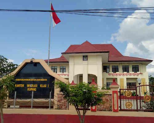 Alamat Telepon Kantor Imigrasi Kelas I Kupang - NTT