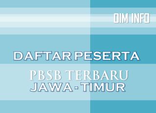 Daftar Peserta PBSB untuk Jawa Timur