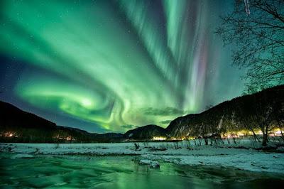 Negara Dengan Fenomena Aurora Paling Indah Di Dunia