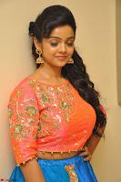 Nithya Shetty in Orange Choli at Kalamandir Foundation 7th anniversary Celebrations ~  Actress Galleries 031.JPG