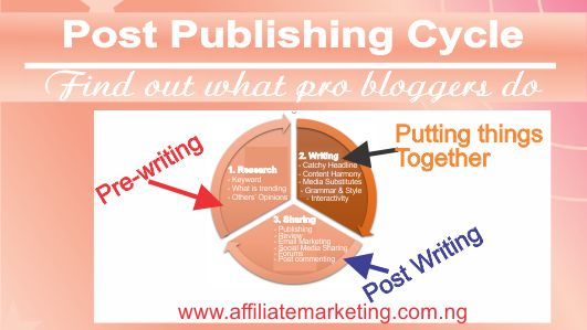 Post publishing blueprint see what top bloggers do affiliate post publishing process malvernweather Choice Image