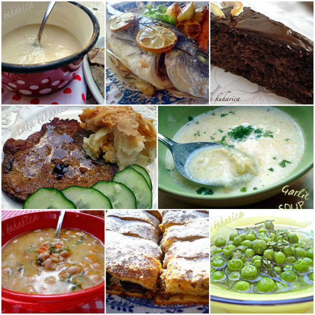 Croatian everyday cuisine and Croatian cakes by Easy cook -Laka kuharica.