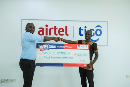 AirtelTigo 'Win Everyday' Promo Gets Winners Overwhelmed