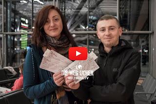 Raus aus Deutschland, auf in die Welt, Bremerhavener Arkadij und Katja reisen ab heute um die Welt!