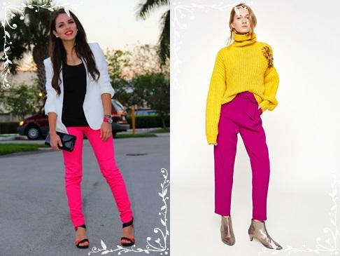 Pembe-renk- pantolon-modelleri-kadin