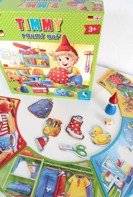 Stadtlandeltern - Geschenkidee - Ostern - Kinderspiel - Timmy räumt auf - Pegasus Spiele